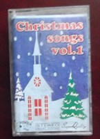 "caseta audio, ""Christmas songs"", vol 1"