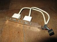 Bracket doua porturi USB