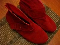 Ghetute de dama rosii marimea 39