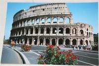 Carte postala cu Colosseum-ul din Roma
