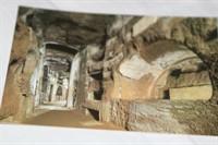 Carte postala cu Catacombele din Roma