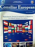 """revista """"Consilier European"""" 4/2011"""