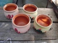 Ghivece ceramice mici