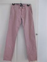 Pantaloni barbatesti roz/mov deschis Zara, marime eur 38, mex/usa 30