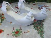 sandale albe 39
