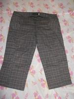 Pantaloni carouri, 3/4, marimea 30 (M/L)