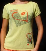 Tricou Galben Tricotat Marimea S/M