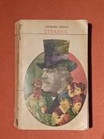 """carte """"Titanul"""", Th. Dreiser"""