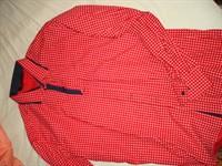 Camasa rosie maneci lungi XL