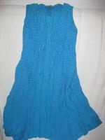 Rochie albastra cu albastru turcoaz