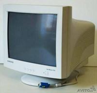 "Monitor CRT Samsung Sync Master 17"""
