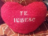 """Perna """"Te iubesc"""", cu sunet in limba engleza"""