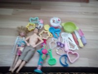 Lot 15 jucării fete