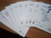 Set 10 Brosuri UNICEF -pentru parinti