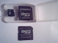 Card MicroSD + 2 adaptoare SD