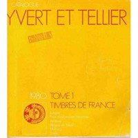 Catalog timbre Yvert & Tellier 1980 (Franta si coloniile)
