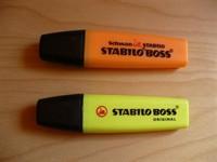 2 markere galben + portocaliu