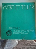 Catalog timbre Yvert & Tellier 1982 (Africa, America, Asia si Oceania)