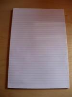 2 caiete A4 fara coperti