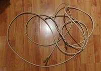 2 bucati cablu coaxial