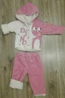 Geaca si pantaloni bebe fetita