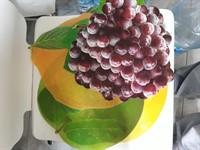 Covorase plastic pt masa modele fructe (4 buc)