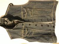 Vesta jeans baieti