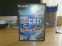 PC - DVD SETTLERS, CSI, RAYMAN3