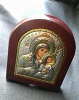 Icoana cu picior Fecioara Maria si Iisus Hristos