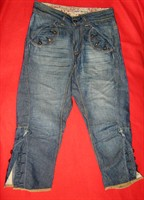 jeans trei sferturi