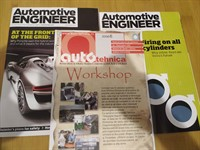 Reviste tehnica auto - Autotehnica si Automotive Engineer (engleza)