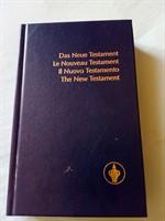 Noul Testament in patru limbi straine.