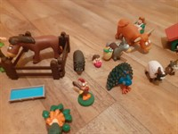 Set jucarii figurine plastic