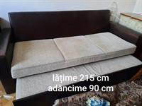 Canapea extensibilă 3 locuri