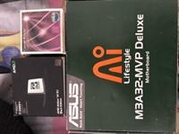 2 placi de baza + 5 procesoare + 1 cooler (totul mocca)