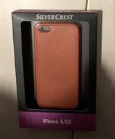 Husa silicon Silvercrest noua rosie iPhone 5 sau 5S