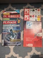 Donez reviste vechi PC practic si PC World